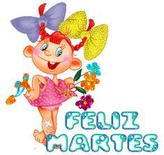 El Rincon de mis Imagenes: Feliz Martes-niña y flores