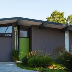 My biggest project yet tackling exterior paint mid for Mid century modern exterior house paint colors