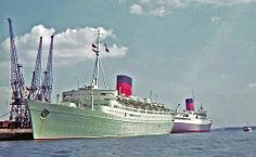 RMS Caronia and RMS Pendennis Castle