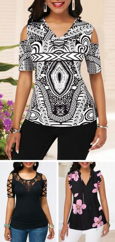 Sleeveless tops are a must: why not look both extravagant and elegant all at once? See our top guide to pick out something for yourself. Blouse Styles, Blouse Designs, Stylish Tops For Women, Dress Outfits, Fashion Dresses, Shirt Refashion, Handmade Dresses, Classy Dress, African Fashion