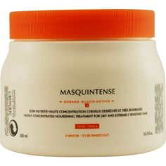 KERASTASE by Kerastase NUTRITIVE MASQUINTENSE NOURISHING TREATMENT FOR THICK HAIR 16.9 OZ ( Package Of 4 ) *** Want to know more, click on the image.