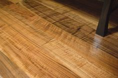 Figured (Curly) Black Walnut Flooring ...Hearne Hardwoods specializes, just like with our lumber, in the rare and unusual flooring choices such as English Wych Elm, Koa, Pippy Oak, or Birdseye Maple
