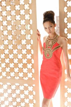 "Trina Turk Sexy Rich Red Chile Pepper Beaded Neckline ""Nubia"" Halter Dress Sz 2 | eBay"