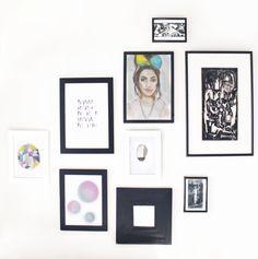 Frames Decor, Gallery, Gallery Wall, Wall, Home Decor, Frame