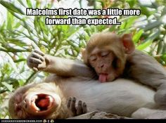 Malcolm's first date.