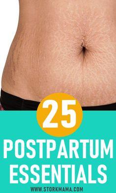 Postpartum Essentials for New Moms | Postpartum recovery |  First Time Mom | New Mom #pregnancy #postpartum #newmom