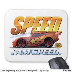 """Cars' Lightning McQueen """"I Am Speed"""" Disney"""