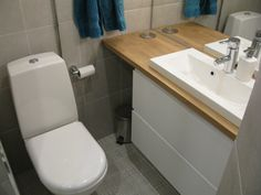 Sink, Bathroom, Home Decor, Houses, Toile, Sink Tops, Washroom, Homes, Vessel Sink