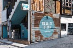카페 빈티지 바닥 시공폐교마루 고벽돌 노출콘크리트 이곳은 영화 청춘스케치 (Reality Bites)의 영감을 ...
