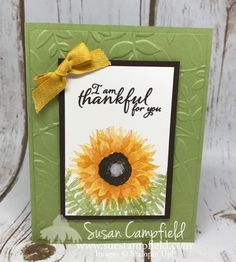 The Stampin' Up! Holiday Catalog is coming on September 1st!! This gorgeous Painted Harvest stamp set is just one of the stamp sets in the catalog. I love the texturing on these stamps - it makes a