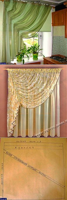 Easy way to drape those lace curtains in the living room Curtains And Draperies, Home Curtains, Kitchen Curtains, Window Curtains, Valances, Country Curtains, Drapery Styles, Curtain Styles, Curtain Designs