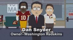 South Park joins Washington Redskins controversy in Season 18