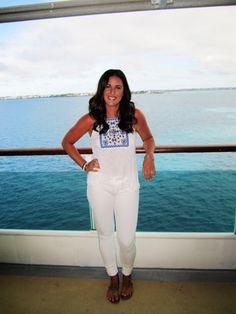 A look from the Cruise I went on! French Top and Articles of Society Pants