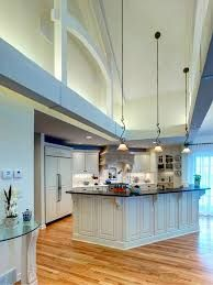 Cathedral Ceiling Kitchen Lighting Ideas