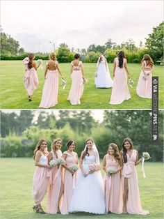 pink bridesmaid dresses | CHECK OUT MORE IDEAS AT WEDDINGPINS.NET | #bridesmaids