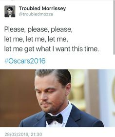 Leonardo Dicaprio might win an Oscar