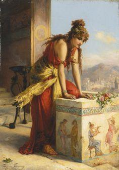 ishanti: Cornelia Elisabeth Gallas - Adoración joven