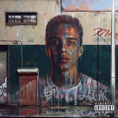 Here's the deluxe cover art I painted for @logic301's under pressure for Def Jam recordings. More details on my tumblr.