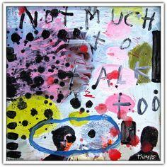 Troy Henriksen - The Doors (record sleeve) - Acrylique et mixte sur carton - 31 x 31 cm - 2015 - Galerie W - Galerie d'Art contemporain à Paris #galeriew #gallery #w #gallery w #troy-henriksen @galeriew