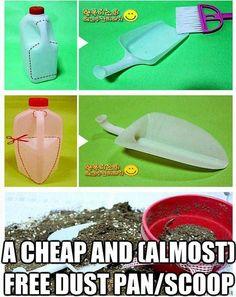 Reuse tip for milk jug