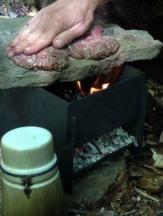 Bushcraft camp cooking