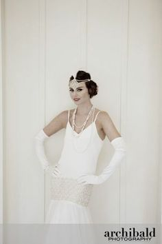 Lindsay Fleming's All That Jazz 1920s wedding dress collection. I want...
