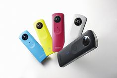 Man merkt - es ist IFA-Zeit. Nach einem lauen Sommer kommen die Hersteller jetzt vermehrt mit Neuheiten um die Ecke. So auch Ricoh, die ihre 360-Grad-Kamera Theta in neuer Version präsentieren.  http://camera-magazin.de/news/rundum-in-die-social-media-welt/