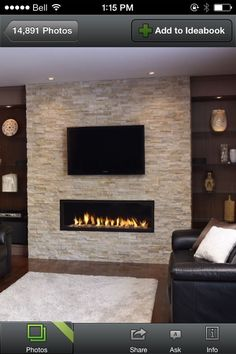6 Simple and Crazy Tricks: Rustic Fireplace Cover country fireplace pictures.Charcoal Painted Fireplace old slate fireplace.Corner Fireplace With Shelves. Basement Fireplace, Fireplace Wall, Fireplace Design, Fireplace Ideas, Modern Fireplace, Stacked Stone Fireplaces, Fireplace Cover, Fireplace Outdoor, Limestone Fireplace