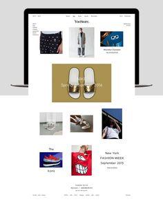 VooStore Berlin - Web Design on Behance
