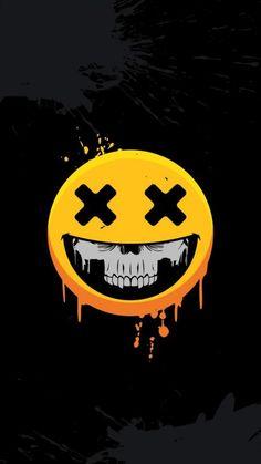 Scary Wallpaper, Cartoon Wallpaper Hd, Joker Wallpapers, Graffiti Wallpaper, Skull Wallpaper, Black Wallpaper, Screen Wallpaper, Disney Wallpaper, Mobile Wallpaper