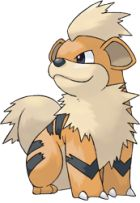 Growlithe 058: A Gold Exclusive Fire Type. It evolves into Arcanine with a Fire Stone (only one Fire Stone per Gen Ii game). Catch two, a male and a female, and trade the female for a female Vulpix. Moveset: Bite, Flame Wheel, Flamethrower, Headbutt.