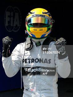 Lewis Hamilton´s IWC driving gloves