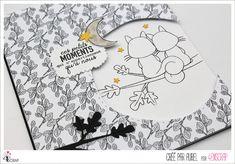 """Aurel : #Tampons et #matrices de coupe #dies #4enSCRAP """"L'#amitié est précieuse"""" #texte #scrapbooking #DIY #loisirscréatifs #carte #carterie Mini Albums, Scrapbooking Diy, Tampons Transparents, Air, Comme, Roses, Snoopy, In This Moment, Happy Moments"""