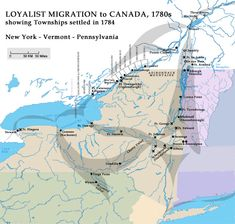 Histories: Post-Revolution Migration to Canada & Settlement: VanValkenburgh-Vollick-in-Canada (a collaborative project) Family History Quotes, Black History Quotes, History Books, Nasa History, History Facts, Canadian History, American History, Canada, Family Tree Worksheet