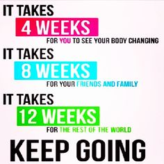 Just because you don't see a change right away doesn't mean it isn't working! Stick with it and trust the process!!