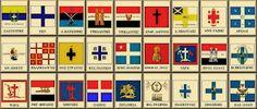 drapeaux de la Révolution grecque
