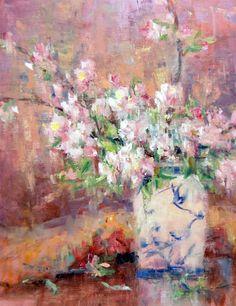 Julie Ford Oliver - Apple Blossoms