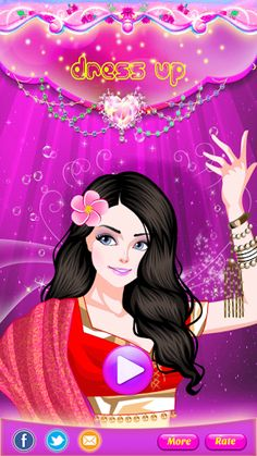 Find your inner fashionista - create new looks and styles for your Dress Up & Make Up Dancer.<p>Design your own dancer girl with this dress-up game! It is sure to be a game your kids will love. You get to choose her hair, eyes, skin, dress, jewelry, handb