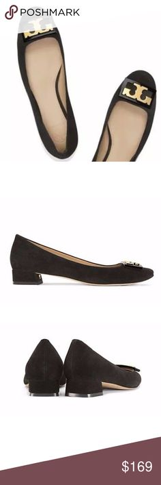 Tory Burch Gigi Block Heel Black Suede Pump SZ 6.5 Tory Burch Gigi Block  Heel Black Suede Pump Size 6.5 'Gigi' pumps Black suede 'Gigi' pumps from  Tory ...
