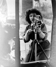 Maya Deren, shooting.