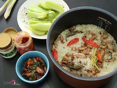 Resep Nasi Liwet Sunda dengan Rice Cooker