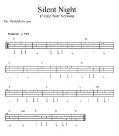 Silent Night (single note version)