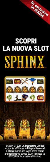Banner Lottomatica Sphinx