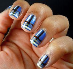 Stripes - Nail Art Gallery by nailsmag.com