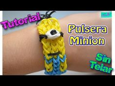 ♥ Tutorial: Pulsera Minion (sin telar) ♥ - YouTube
