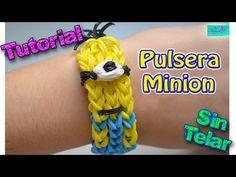 ♥ Tutorial: Pulsera Minion (sin telar) ♥ - YouTube