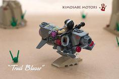 "Trail Blazer | Re-imagined ""Lone Ranger"" themed hoverbike, b… | Flickr"