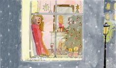 My little Paris Illustration Parisienne, Paris Illustration, Winter Illustration, Christmas Illustration, Cute Illustration, Cozy Christmas, Christmas Time, Xmas, Vive Le Vent