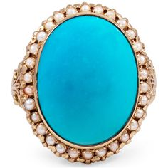 The Cheyne Ring, turquoise. my favorite stone and color.