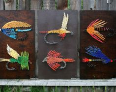 string art trout - Google Search